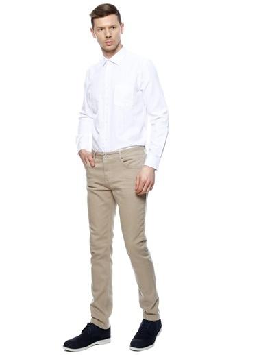 Cotton Bar Klasik Uzun Kollu Gömlek Beyaz